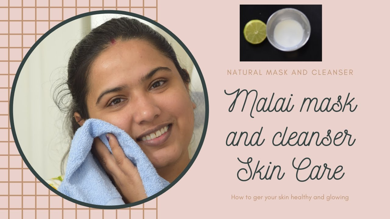 I used Malai mask or cleanser in my daily routine  Clear Face & Glowing  Skin 12% Work