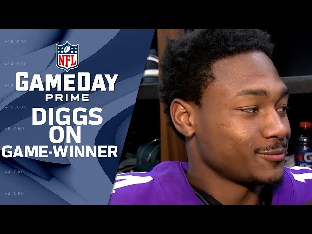 "Stefon Diggs on Game-Winning TD, ""Case Gave Me a Heads Up"" 