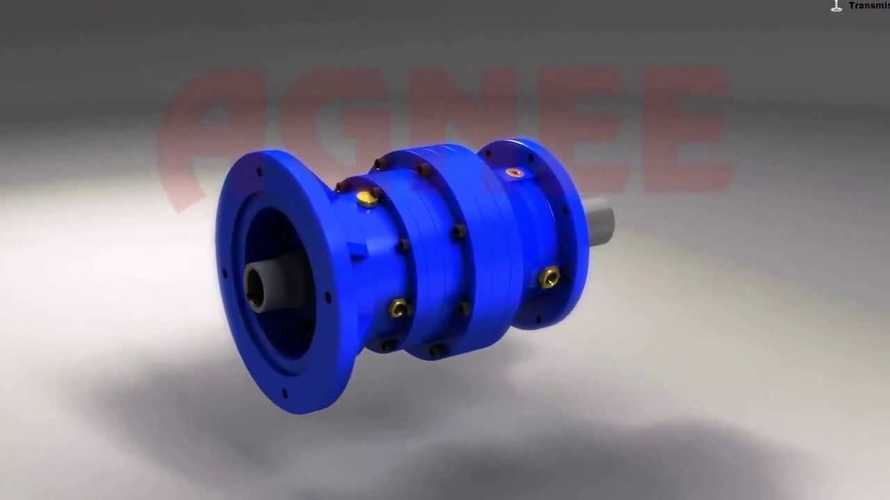 Planetry Gearbox Bevel Planetary Gearbox Foot Mounted
