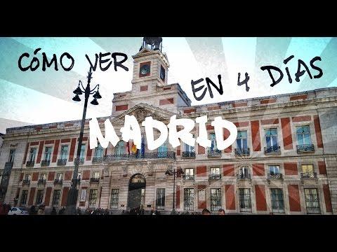 Cómo visitar MADRID en 4 días: lugares turísticos, hotel, bares, transporte...