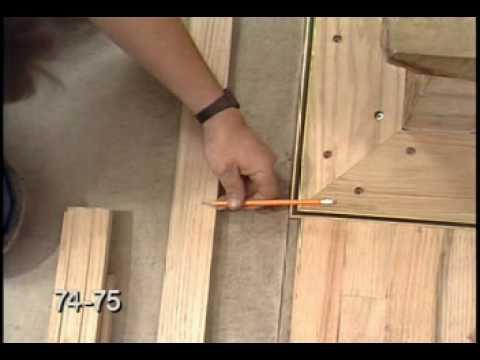 Hardwood Floor Racking Nailing