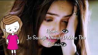 Sad whatsapp status very sad naina bichad ke aaj ro diye hai i