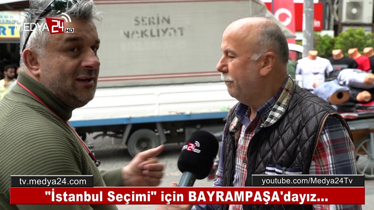 YSK'nın İptal Kararı Hakkında Bayrampaşa Halkı Neler Söyledi? - Medya24 Tv