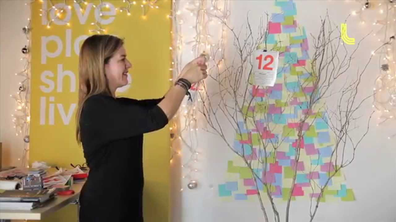 D corations des f tes l 39 arbre mots youtube - Fabriquer un arbre a bijoux ...