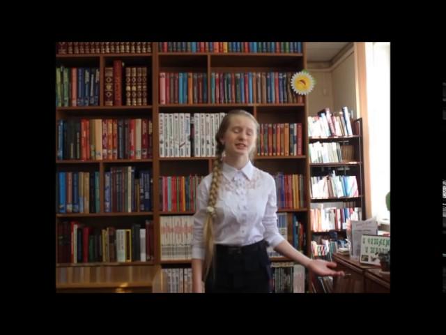 Изображение предпросмотра прочтения – АннаКоролькова читает произведение «Над морем красавица- дева сидит» М.Ю.Лермонтова