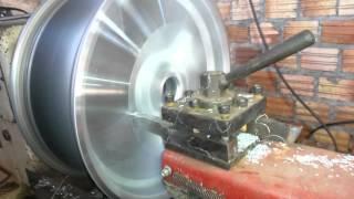 Diamantando rodas liga leve