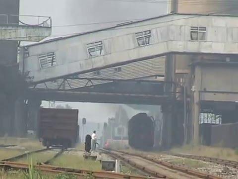 Steam of Yanzhou Coal Mines Railway China(Aug.2007) 2 中国・兖州(ヤン州、充州)炭鉱鉄道の蒸気機関車(2007年8月) 2