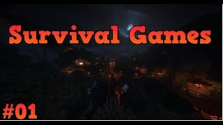 Minecraft Survival Games #01