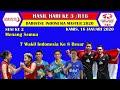 Hasil Daihatsu Indonesia Master 2020 Hari Ke 3 ~ Sesi Ke 2 Semua Menang, 7 Wakil Lolos 8 Besar