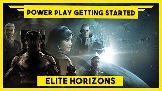 Elite Dangerous PowerPlay Tutorial - Getting Started With PowerPlay & Earning Merits