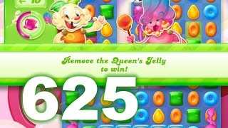Candy Crush Jelly Saga Level 625 (3 star, No boosters)