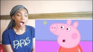 LARRAY i edited a peppa pig episode cause i got bored REACTION