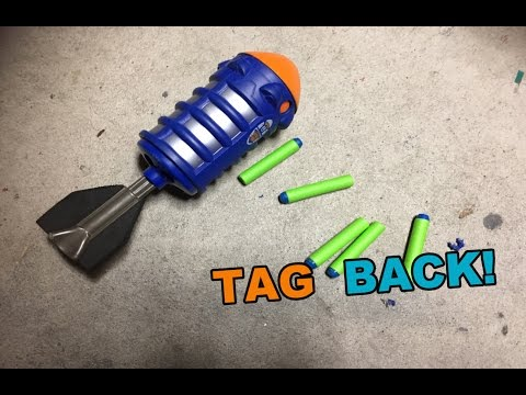 TAG BACK! - Lanard / The Corps Scatter Blast NERF Grenade