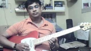Ruk jana nehi tu kahi har ke on Guitar