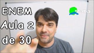ENEM - QUESTÃO 136 - Caderno amarelo - 2015 (Aula 2 de 30)