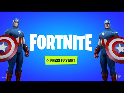 *NEW* CAPTAIN AMERICA SKIN IN FORTNITE! (FORTNITE ITEM SHOP)