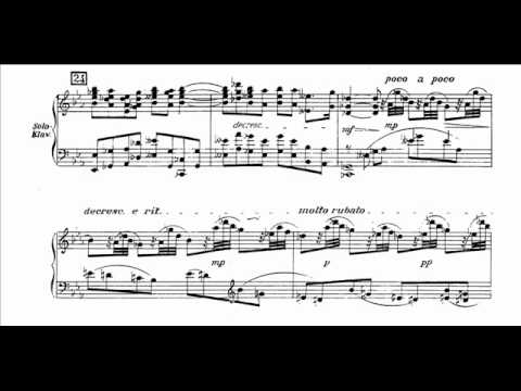 Marx - Castelli Romani for Piano and Orchestra (I)