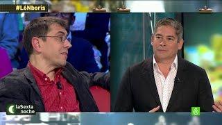 """Boris Izaguirre: """"Monedero, si usted fuera a Venezuela no vería un programa como laSexta Noche"""""""