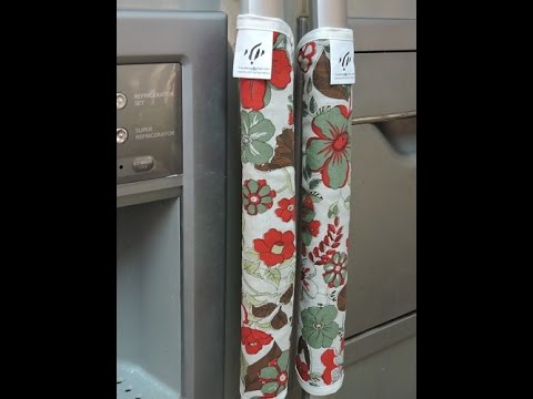 YULY- Refrigerator Decorative Handles Cover - YouTube