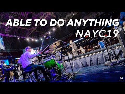 NAYC19 Drum Cam // Able To Do Anything // James Wilson