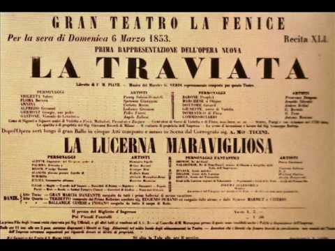 Lunge Da Lei / De Miei Bollenti... - Verdi:  La Traviata; Benke József, Tenor