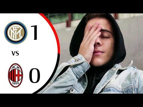 COSÌ NO... - INTER 1-0 MILAN | LIVE REACTION GOL SAN SIRO HD