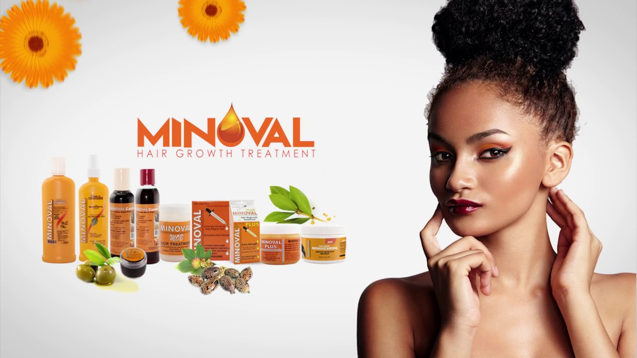 Minoval Products Hair Growth Treatment Animated Commercial