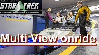 Star Trek Operation Enterprise Onride (NEUHEIT) - Movie Park Neue Achterbahn 2017 Multi View onride