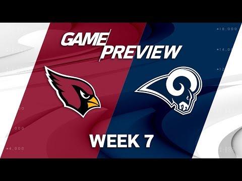 Arizona Cardinals vs. Los Angeles Rams   Week 7 Game Preview   NFL Playbook