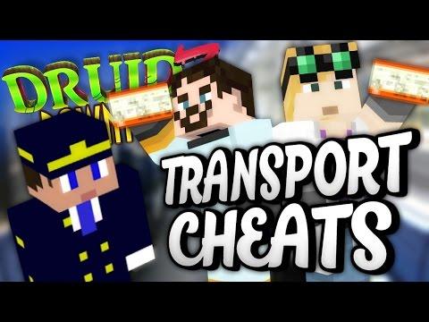 Minecraft Mods Druidz Downtown #88 - Transport Cheats