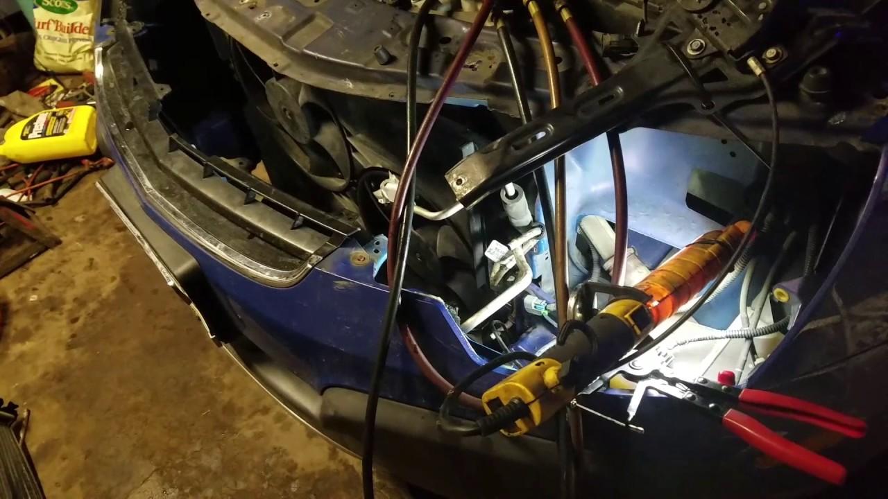 medium resolution of radiator removal 2008 saturn vue