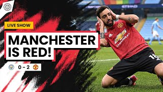 Manchester Is RED!! | Man City 0-2 Man United | Match Review