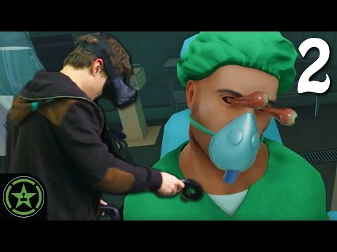 Let's Play - VR Surgeon Simulator ER: Experience Reality Part 2