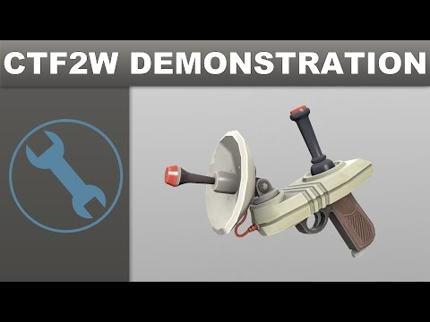 [TF2] Custom Weapon Demonstration: The Signal Booster