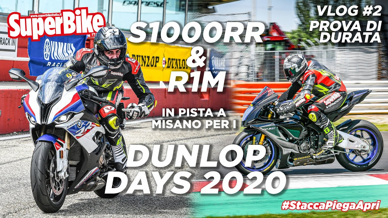 Dunlop Days 2020 a Misano con la BMW S1000RR. Prova di Durata - Vlog ep. #2