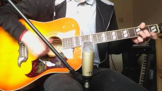No Use For A Name - Sleeping Between Trucks Acoustic Guitar Cover