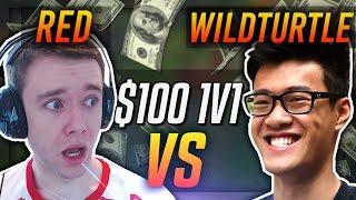 REDMERCY VS TSM WILDTURTLE   $100 1v1 SHOWDOWN!! - League of Legends