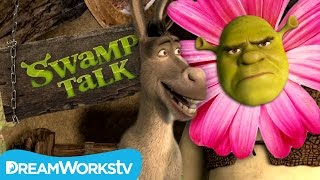 Is This Shrek Or A Flower | SWAMP TALK WITH SHREK AND DONKEY