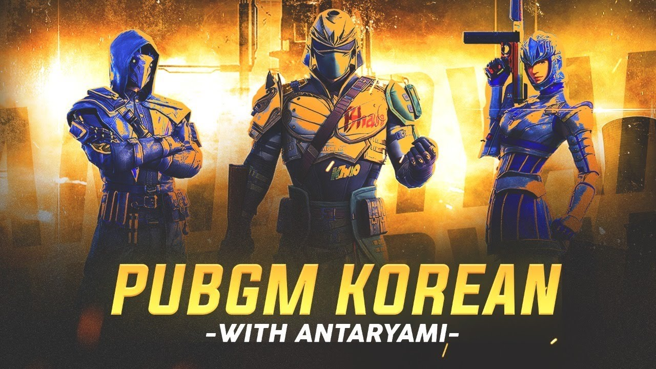 pubg mobile korean version full bhasad || Antaryami gaming