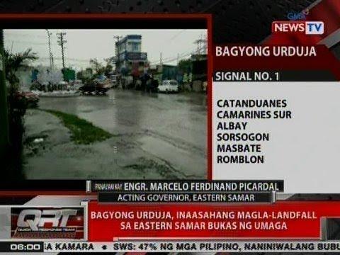 QRT: Panayam kay Engr. Marcelo Ferdinand Picardal, acting Governor, Eastern Samar