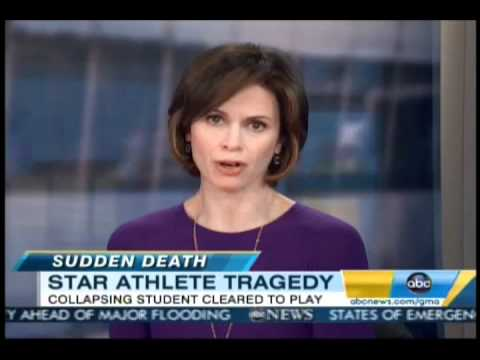 Young Athletes Sudden Heart Attack - Good Morning America - March 10 2011