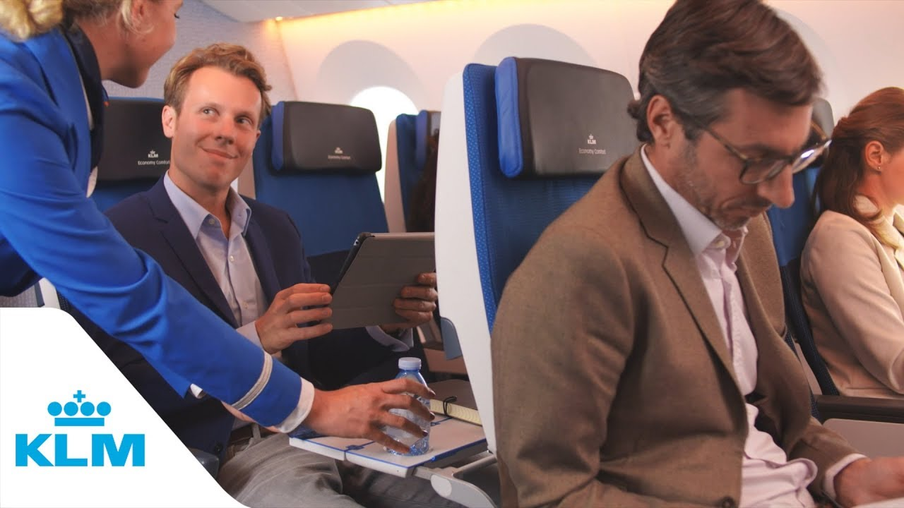 All you want to know about KLM's Economy Comfort seat - KLM com