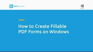 Wie Erstellen Sie Ausfüllbare PDF-Formulare auf Windows