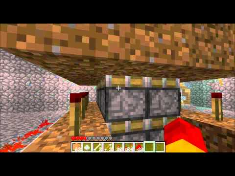 Minecraft - 4x2 Double Sticky Piston Array (Drawbridge) + Piston Flipflop Weirdness