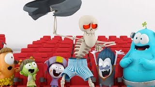 Funny Animated Cartoon | Spookiz | Moonwalk | 스푸키즈 | Kids Cartoons | Videos for Kids