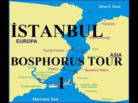 Turkey-Istanbul (Bosphorus tour/Boğaz turu) 1) Part 64