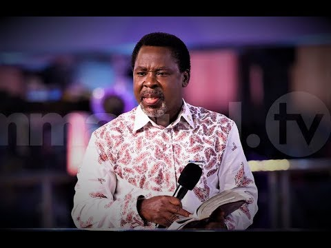 SCOAN 24/03/19: Message by TB Joshua & Prayer For Viewers | Live Sunday  Service