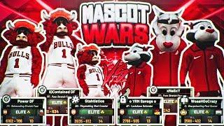NBA 2K19 MASCOT WARS : BULLS VS BLAZERS • THE BEST MASCOTS FACE OFF IN THE PARK! 99 & 98 OVERALLS!