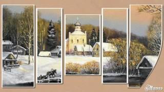 Зима в стиле полиптих ProShow Producer