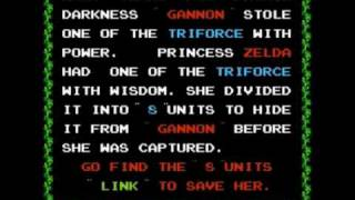 The Legend Of Zelda - Walkthrough Part 1